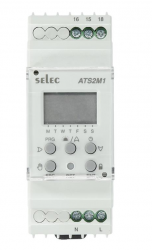 Astronomische Zeitschaltuhr ATS2M1-1-16A-230V-CE
