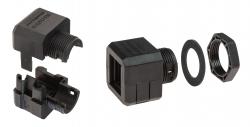 Kabeldurchführungssysteme, teilbare Kabelverschraubung DES CLICK