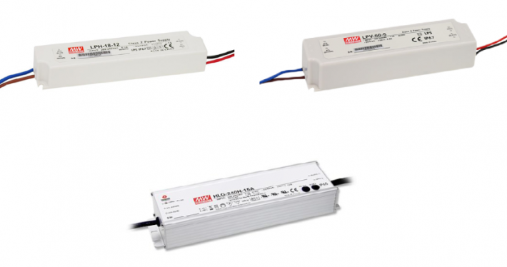 LED Schaltnetzgeräte LPH/LPV/HLG
