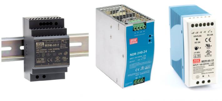 Schaltnetzgeräte für die DIN-Schiene HDR/MDR/NDR