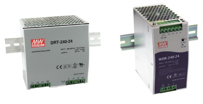 Schaltnetzgeräte für die DIN-Schiene WDR/DRT